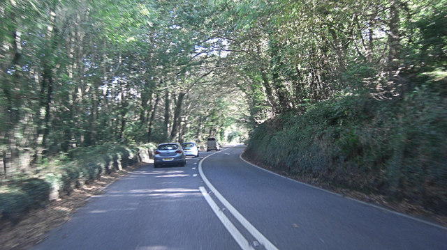A39 passes through Lake's Plantation