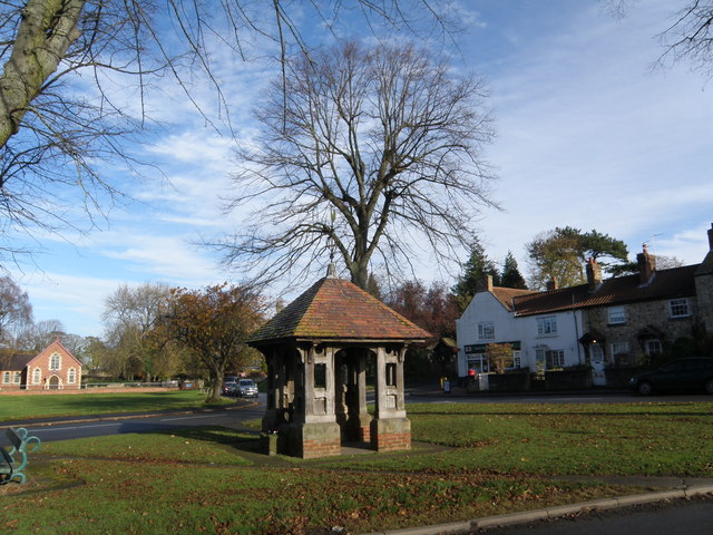 Former  Village  Well  Burton  Leonard