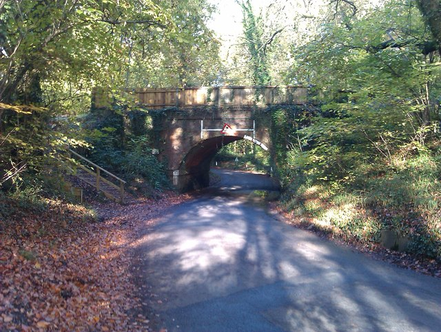 Railway bridge in Pound Lane