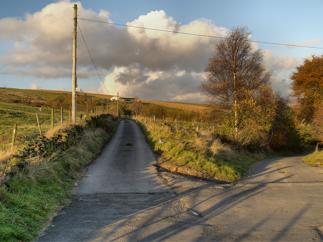 Track to Moorside Farm