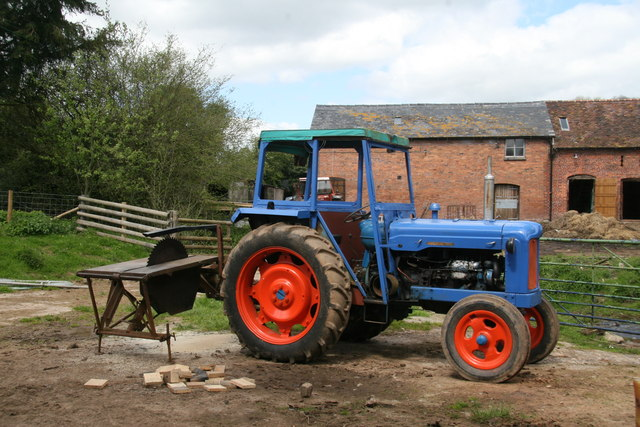 Rockhill Mill - classic tractor