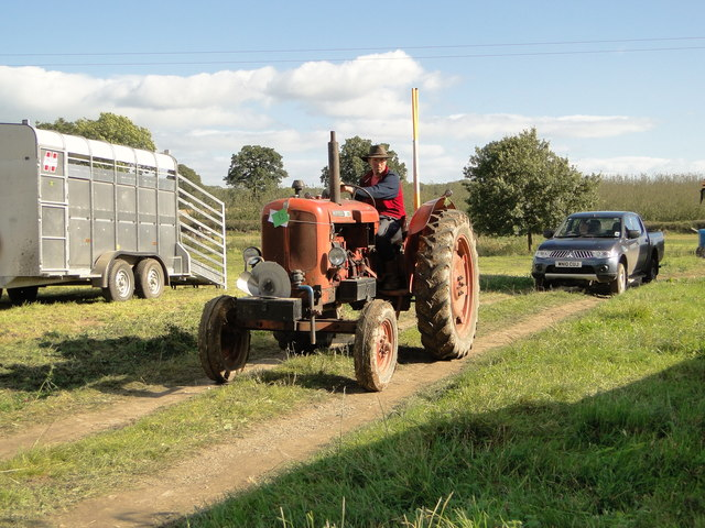 The annual Weobley and District Ploughing Match