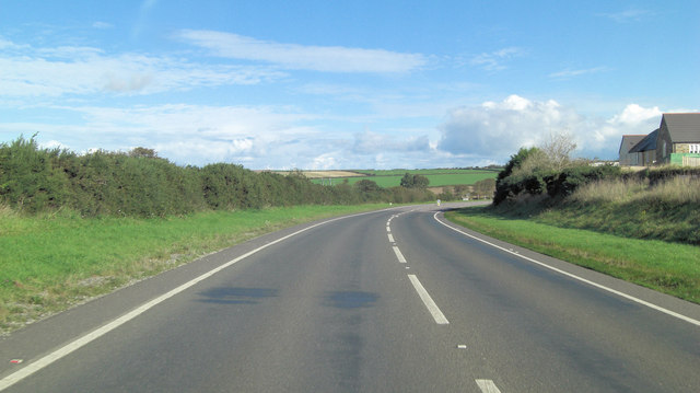 A39 west of Trispen