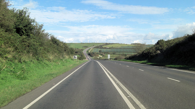 A39 west of Killigrew Farm