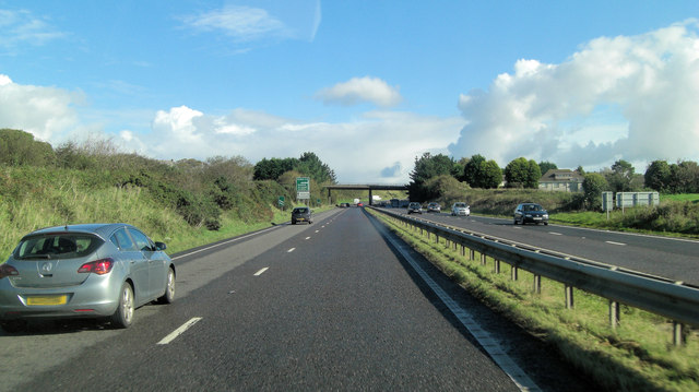 A30 crossed by A3058