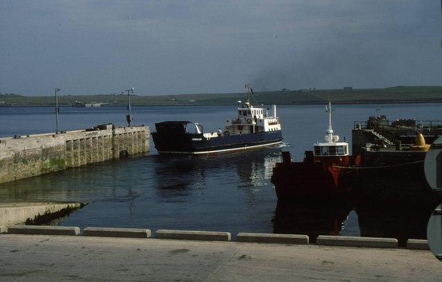 Rousay ferry terminal