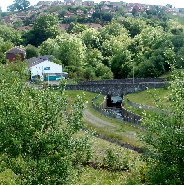 Cardiff Road river bridge, Trelewis