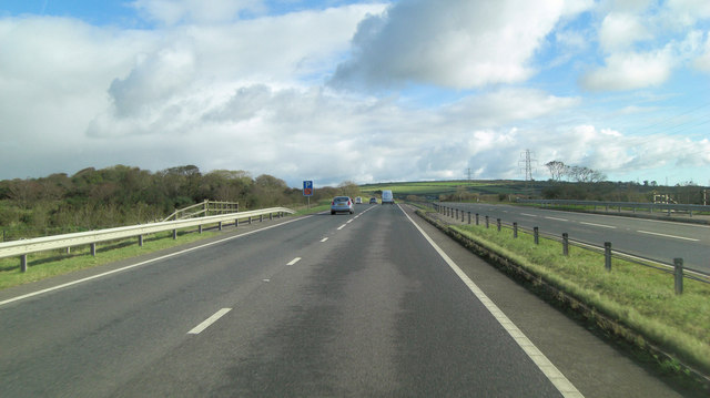 A30 underpass south of Providence