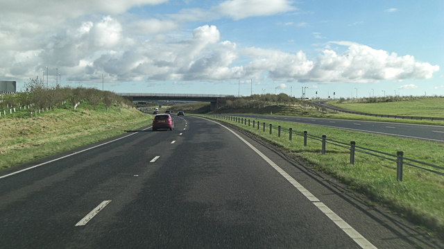 A30 interchange with B3274