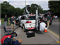 TQ1465 : Olympic cycling camera car by Hugh Venables