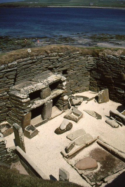 Domestic furnishings at Skara Brae