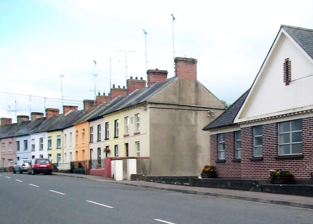 Terraced houses in Analore Street