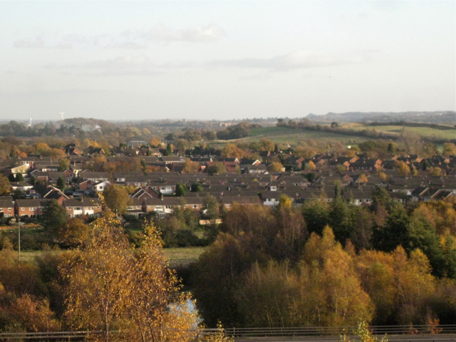 Hoo Hill beyond Polesworth