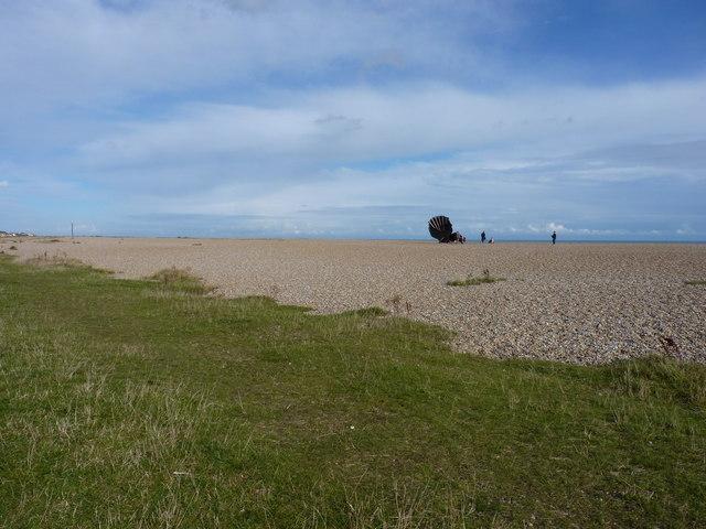 Benjamin Britten scallop sculpture
