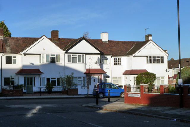 Houses on Westerham Avenue