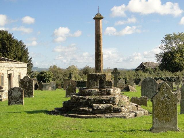 Churchyard cross, Orleton