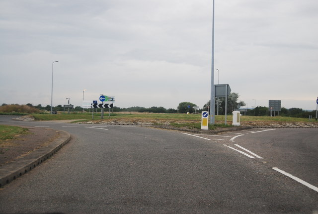 Northwick Road Roundabout