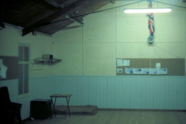 Oban Scout Hut - 1975