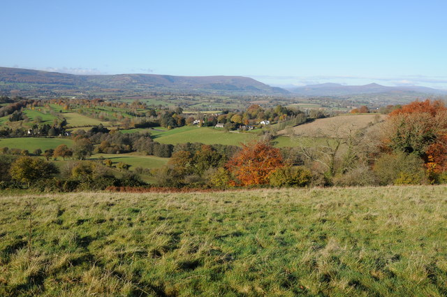 The Usk valley