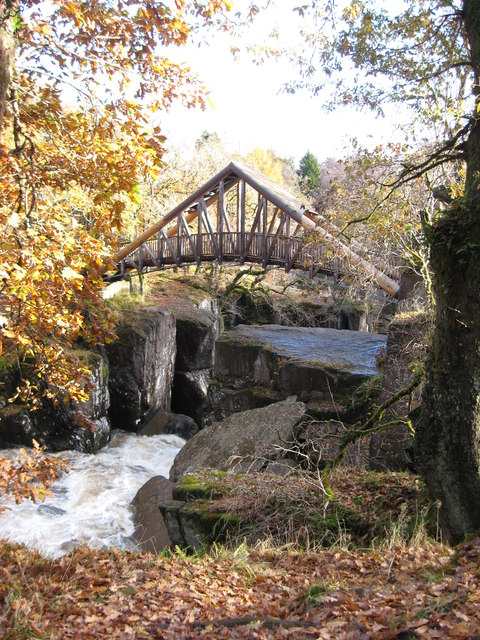 Bracklinn Falls Bridge