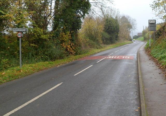 Middleyard boundary