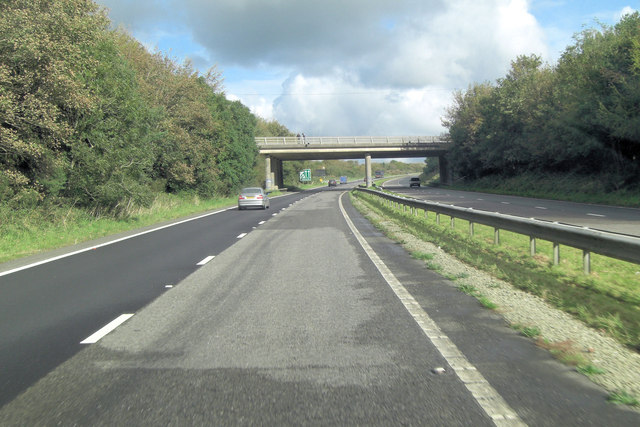 A30 crossed by A38