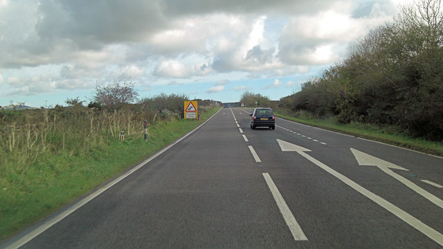 A30 south of Trencreek