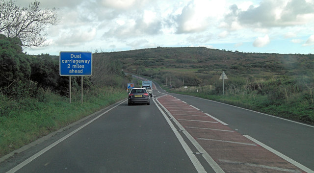 A30 west of Colvannick
