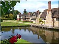 TQ4745 : Hever Castle Village by Des Blenkinsopp