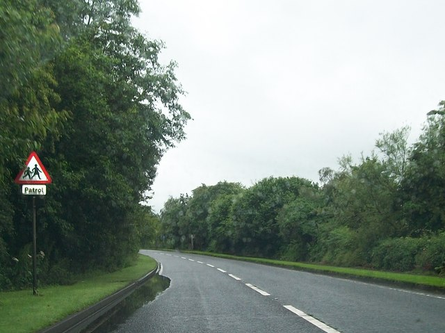 The A5 between Prehen and Newbuildings