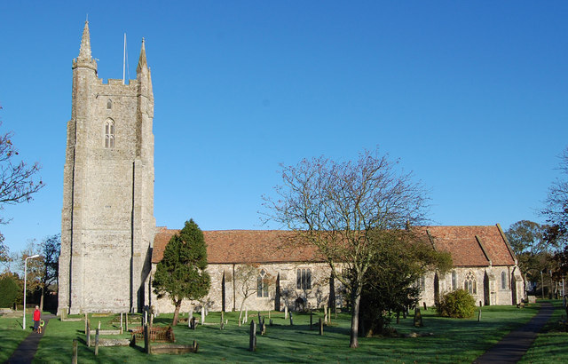 All Saints' church. Lydd