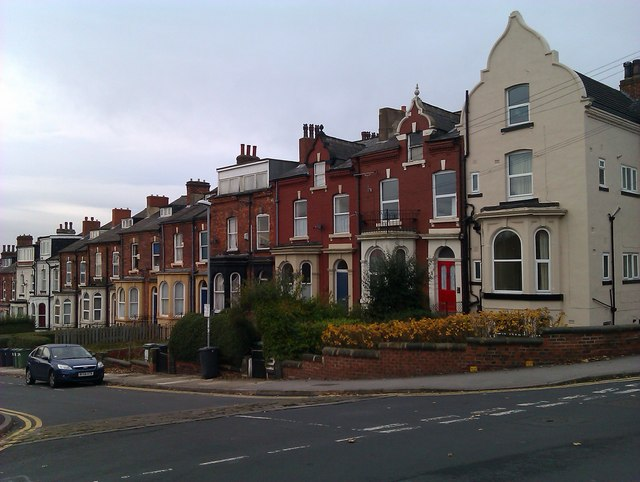 Houses in Victoria Terrace, Leeds