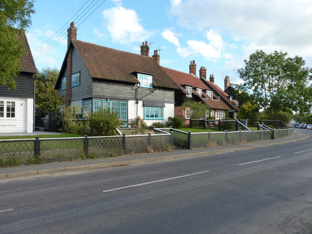 Cottages in Thorpeness village