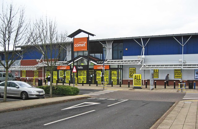 Comet, Unit 4 Blackpole Retail Park, Blackpole Road, Worcester