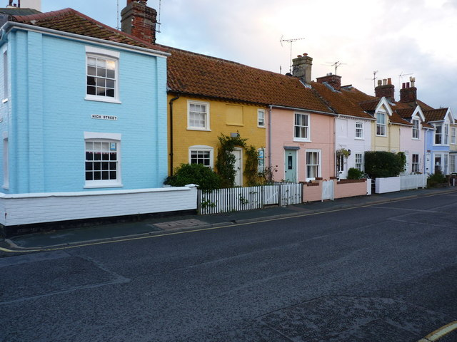 Cottages in Aldeburgh