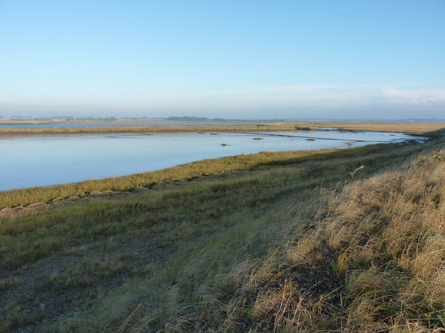 Lantern Marsh behind Orford Ness