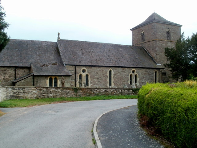 North side of the Church of St Michael and All Angels, Ewyas Harold