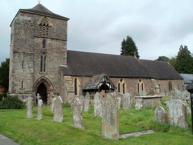 South side of the Church of St Michael and All Angels, Ewyas Harold