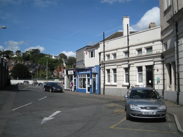 Taxi rank off Courtenay Street