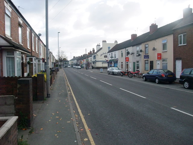 Horninglow Road, Burton upon Trent