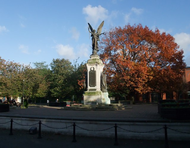 The War Memorial, Burton upon Trent