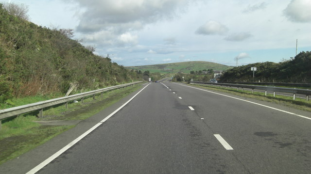 A30 south of Vicarage Farm