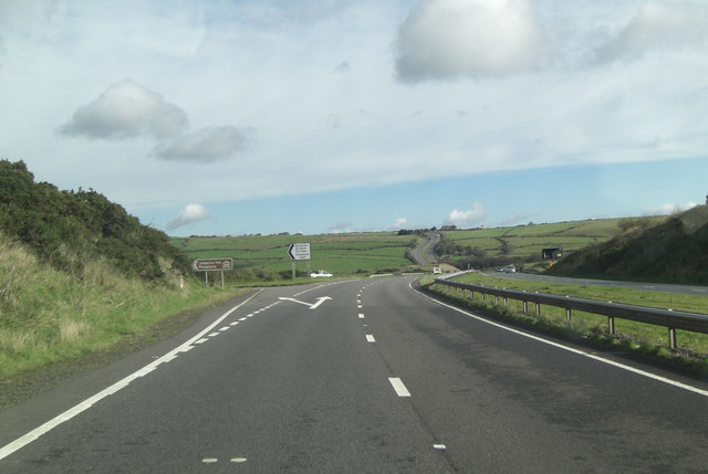 A30 north of Jamaica Inn