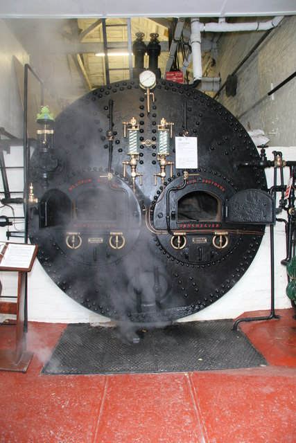 The Waterworks Museum, Lancashire boiler