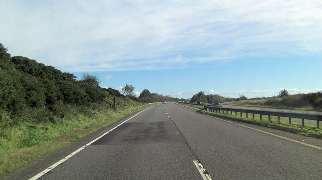 A30 southeast of Trewint