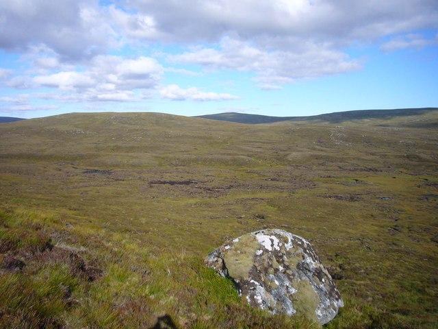 Carn Fraoich glacial moraine/esker