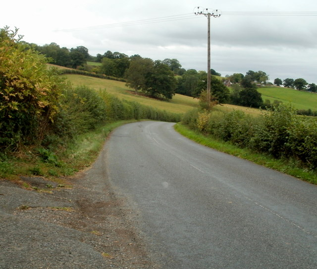 Road from Pontrilas to Kentchurch