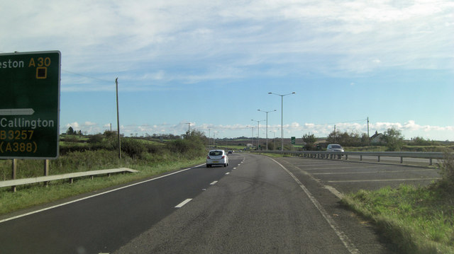 A30 north of Midway