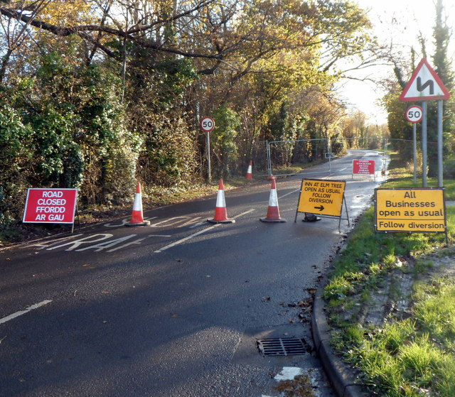 Closure of part of Lighthouse Road, Newport