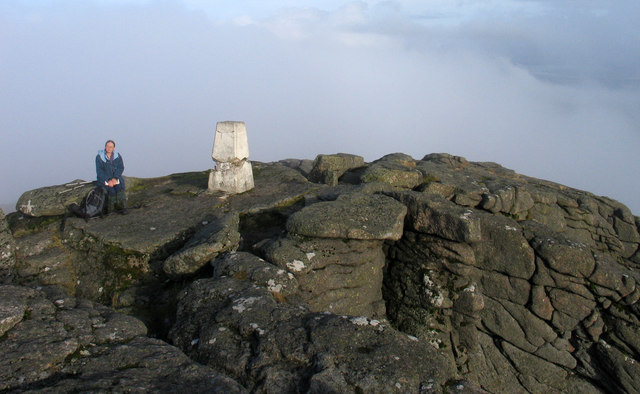 Summit area of Ben Rinnes